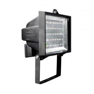 LED Bouwlamp 2W 230V Zwart