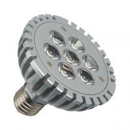 E27 Led spot 7x1 Power Led Warm wit PAR30-0