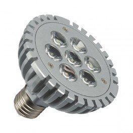 E27 Led spot 7x1 Power Led Warm wit PAR30-0