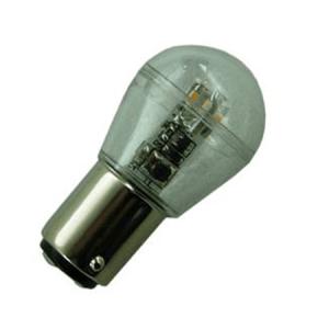 BA15d Led lamp 12V en 24V Warm wit-0