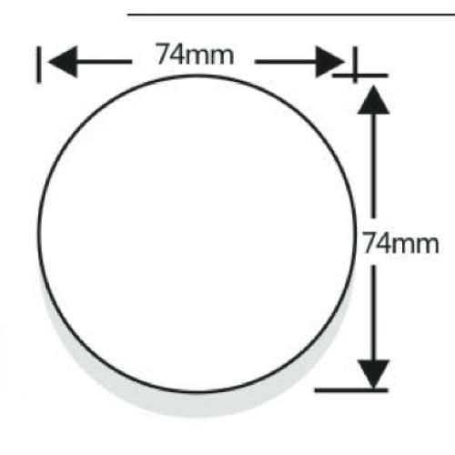 GX53 LED verlichting 12v-24v Warm wit-695