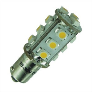 BA9s LED Lamp 12V en 24V Multi-voltage 15SMD