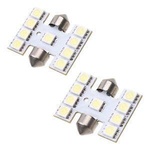 LED S8 Festoon Buislamp 9 SMD 12V Multi-voltage H Vorm