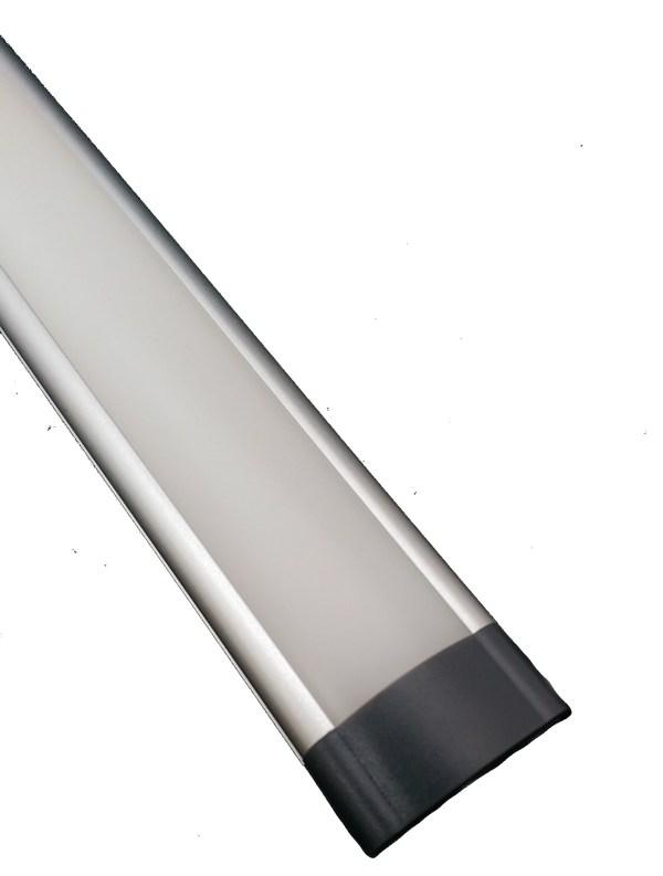 LED Opbouw onderbouw licht bar melkglas met TOUCH Dimmer Schakelaar-1101