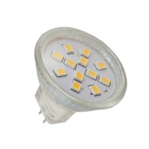 MR11 LED Spot ROOD 2.4W met Glas-0