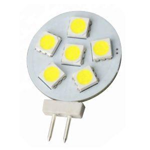G4 GU4 6 smd rond led lamp multie voltage 24V-30V