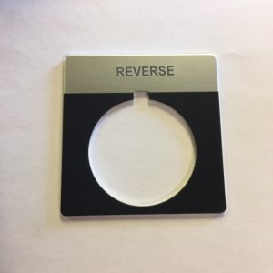 Marathon Legend Plate, Reverse 03-0154
