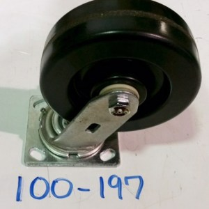 "2 Yard Rearloader Container Caster, 6"" Swivel Phenolic Caster 100-197"