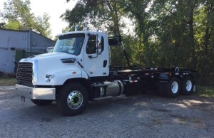 Roll-Off Truck – 2018 Freightliner 114SD with Galfab Cable Hoist – For Sale