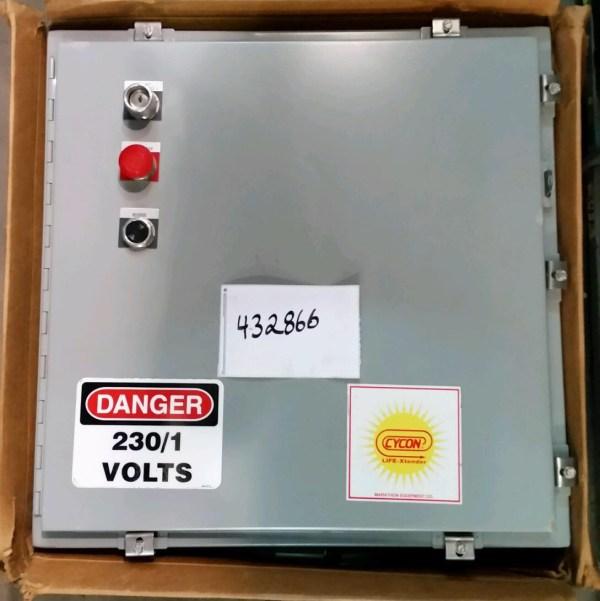 Panel Box, Single Phase with Omron Drive, Marathon 432866