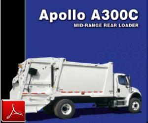 E-Z Pack Apollo Rear Loader Garbage Truck Body