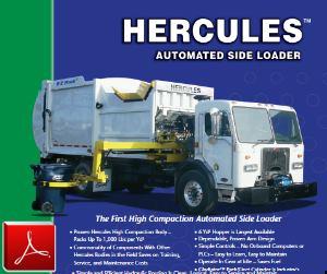 E-Z Pack Hercules Side-Loader