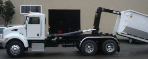 Hook Lift Hoists and Roll-Off Container Trucks