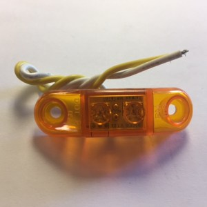 Amber LED Utility Marker Light M168A