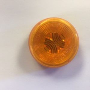 "2"" Round Amber Side Marker Light NL150829"