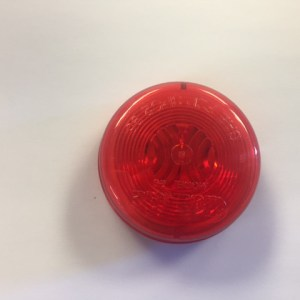 "2"" Round Red Side Marker Light NL150833"