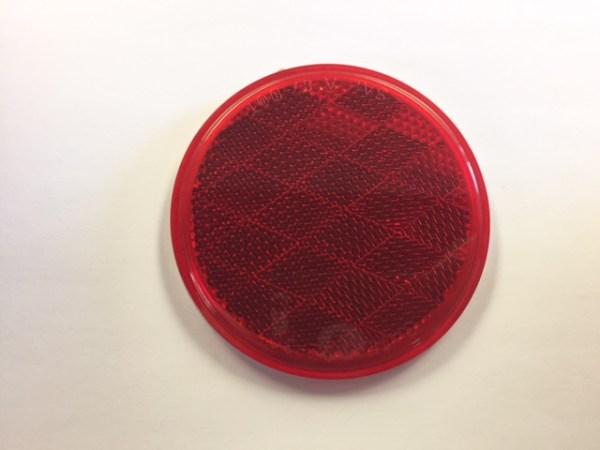"3"" Round Red Reflector NL160002"