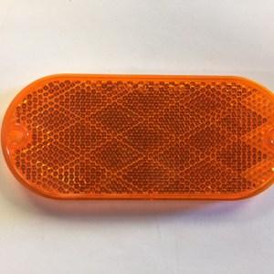Oblong Amber Reflector NL160003