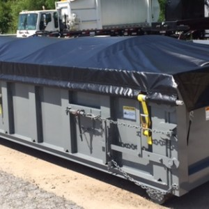 Open Top Container Tarp Kit