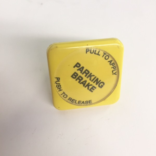 Parking Brake Knob, Yellow Diamond Screw On R12503