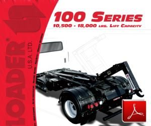 SwapLoader Series 100 Hoists