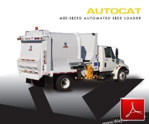 Wayne AutoCat - Side Loader Garbage Truck Body
