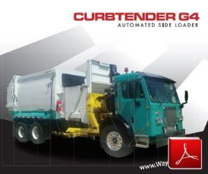 Wayne Curbtender G4 Side Loader Garbage Truck Body