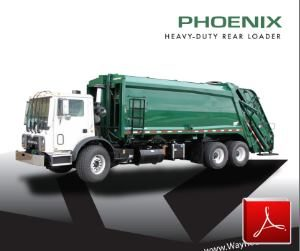 WaynePhoenix Rear Loader Garbage Truck Body