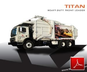 Wayne Titan Front Loader Garbage Truck Body