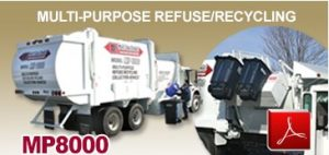 G-S Products MP800 Multi Purpose Garbage Truck Body