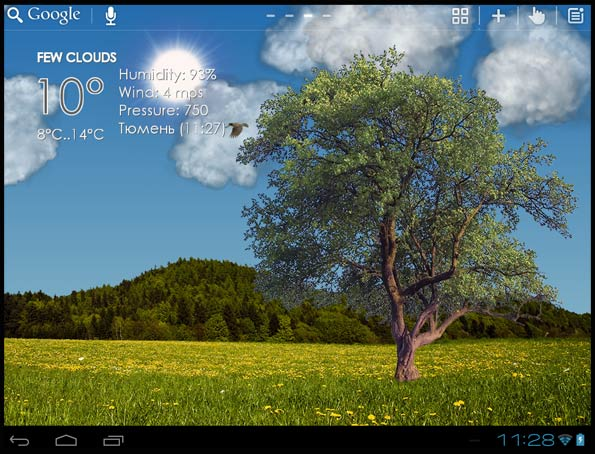 Nature Live Weather Android Free Download