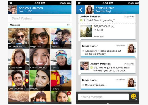 BBM Blackberry Messenger Android Free Download