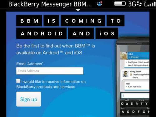 BBM Blackberry Messenger Ios App Free Download