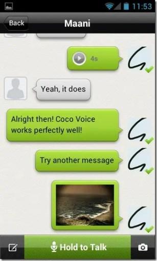 CoCo Voice App iOS Free Download