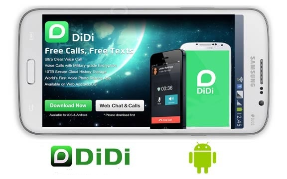 DiDi Free Calls And Text App Android Free Download
