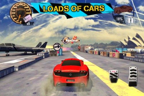 Top Gear Stunt School SSR Game Android Free Download