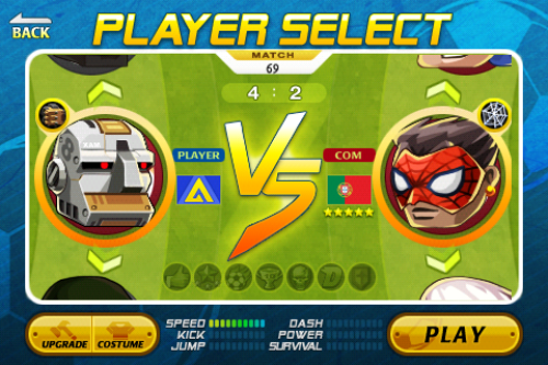 Head Soccer Game Android Free Download