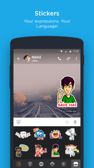 Hike Messenger App Android Free Download