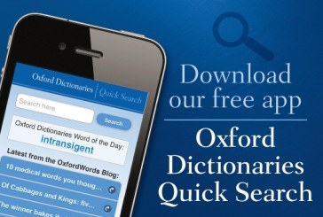 Oxford Dictionary of English App Android Free Download