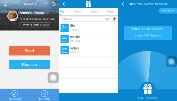 SHAREit App Ios Free Download