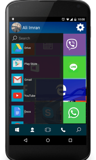 Win 10 Launcher Pro App Android Free Download