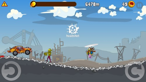 Zombie Road Trip Game Android Free Download