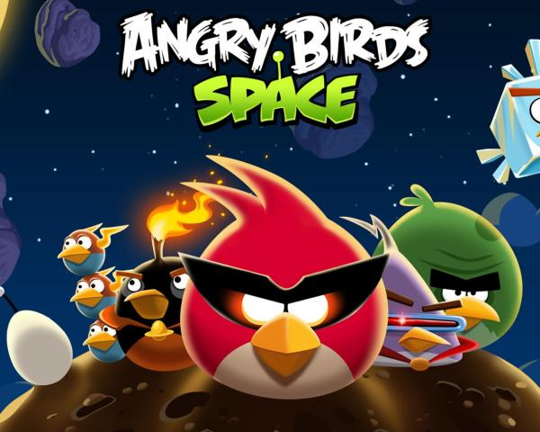 Angry Birds Space HD Game Android Free Download