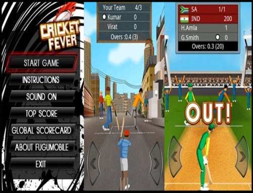 Cricket fever Game Android Free Download