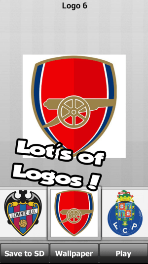 Football logo puzzle quiz Game Android Free Download