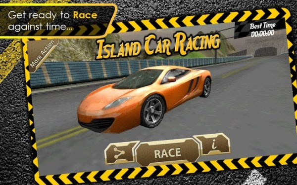 Island Car Racing 3D Game Android Free Download