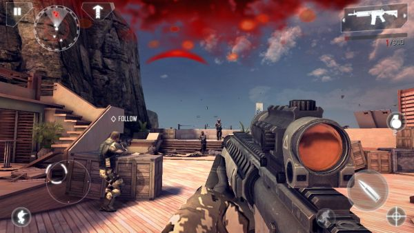 Modern Combat 4 Zero Hour Game Ios Free Download