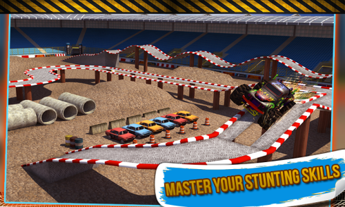 Download Monster Truck Stunt 3D Game Android Free Download