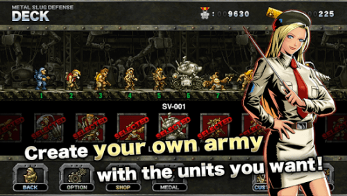 METAL SLUG DEFENSE Game Ios Free DownloadMETAL SLUG DEFENSE Game Ios Free Download
