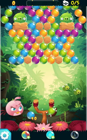 Angry Birds POP Bubble Shooter Game Android Free Download